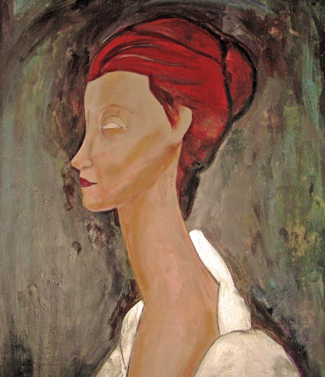 modigliani illustration friday